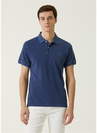 Gant Polo Yaka T-shirt Mavi